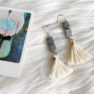 Madewell Tassel Earrings, new without tags.